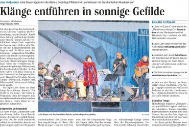 Mannheimer Morgen – Klänge entführen in sonnige Gefilde