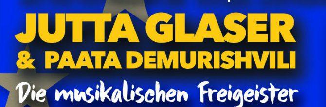 Jutta Glaser und Paata Demurishvili im Bürgerhaus der Bahnstadt Heidelberg am 24.05.2019