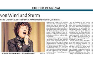 Die Rheinpfalz – Live Streaming Konzert